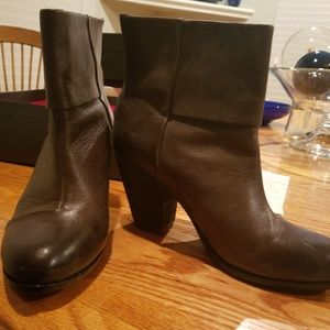 Vince Camuto brown shoe boots
